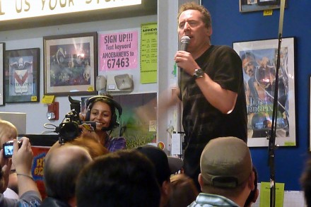 Los Angeles Amoeba Records In-store Performance March 24th, 2011