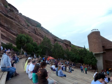 Red Rocks Amphitheatre, Morrison Colorado. 5.6.16